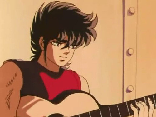 星矢彈吉他