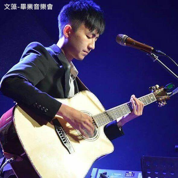高雄 民謠吉他教學 木吉他Fingerstyle教學 民謠吉他社指導老師Chiu Li Han performance