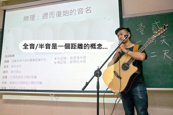 高雄 民謠吉他教學 木吉他Fingerstyle教學 民謠吉他社指導老師basic knowledge